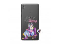 Coque Sony Xperia E5 Je Peux Pas J Ai Shopping