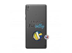 Coque Sony Xperia E5 Je Peux Pas J Ai Volley