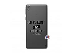 Coque Sony Xperia E5 Oh Putain C Est L Heure De L Apero