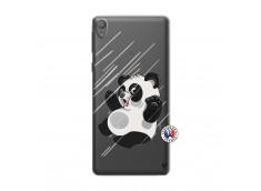 Coque Sony Xperia E5 Panda Impact