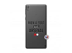 Coque Sony Xperia E5 Rien A Foot Allez Arsenal