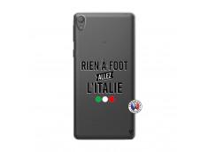 Coque Sony Xperia E5 Rien A Foot Allez L'Italie
