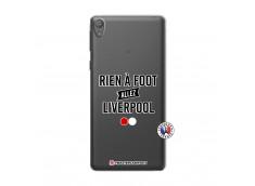 Coque Sony Xperia E5 Rien A Foot Allez Liverpool