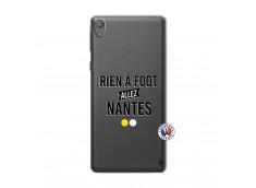 Coque Sony Xperia E5 Rien A Foot Allez Nantes