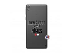 Coque Sony Xperia E5 Rien A Foot Allez Nimes