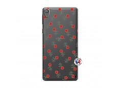 Coque Sony Xperia E5 Rose Pattern