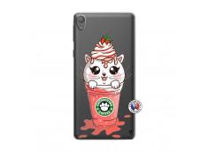 Coque Sony Xperia E5 Catpucino Ice Cream