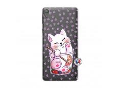 Coque Sony Xperia E5 Smoothie Cat