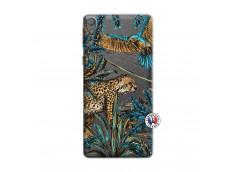 Coque Sony Xperia E5 Leopard Jungle