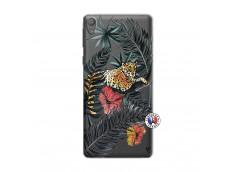Coque Sony Xperia E5 Leopard Tree
