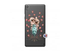 Coque Sony Xperia E5 Puppies Love