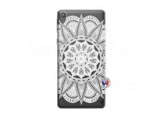 Coque Sony Xperia E5 White Mandala