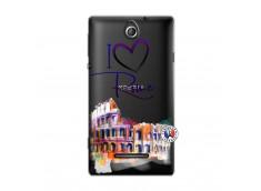 Coque Sony Xperia E I Love Rome