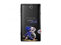 Coque Sony Xperia E Je peux pas j'ai Judo