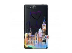 Coque Sony Xperia GO I Love London