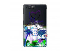 Coque Sony Xperia GO I Love Miami