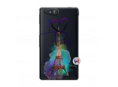 Coque Sony Xperia GO I Love Paris