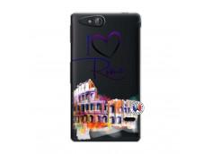 Coque Sony Xperia GO I Love Rome