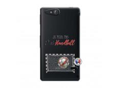 Coque Sony Xperia GO Je peux pas j'ai Handball