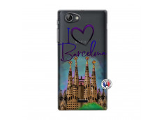 Coque Sony Xperia J I Love Barcelona