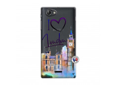 Coque Sony Xperia J I Love London