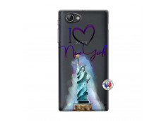 Coque Sony Xperia J I Love New York