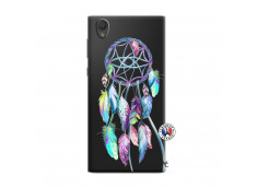 Coque Sony Xperia L1 Blue Painted Dreamcatcher