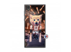 Coque Sony Xperia L1 Cat Nasa Translu