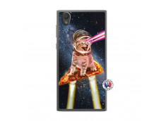 Coque Sony Xperia L1 Cat Pizza Translu