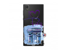 Coque Sony Xperia L1 I Love Paris Arc Triomphe