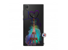 Coque Sony Xperia L1 I Love Paris
