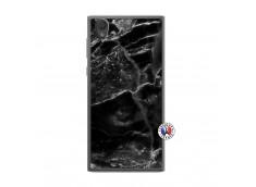 Coque Sony Xperia L1 Black Marble Translu
