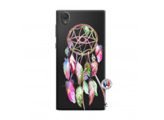 Coque Sony Xperia L1 Pink Painted Dreamcatcher