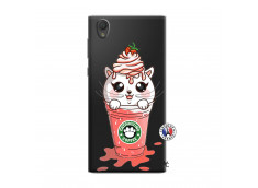 Coque Sony Xperia L1 Catpucino Ice Cream