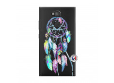 Coque Sony Xperia L2 Blue Painted Dreamcatcher