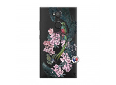 Coque Sony Xperia L2 Flower Birds