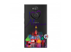 Coque Sony Xperia L2 I Love Moscow