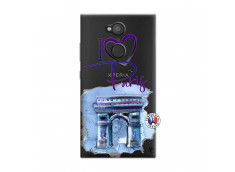 Coque Sony Xperia L2 I Love Paris Arc Triomphe