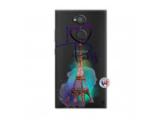 Coque Sony Xperia L2 I Love Paris