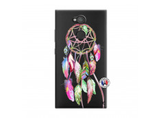 Coque Sony Xperia L2 Pink Painted Dreamcatcher