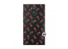Coque Sony Xperia L2 Rose Pattern