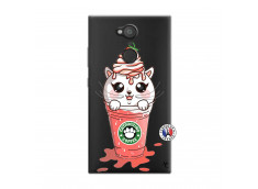 Coque Sony Xperia L2 Catpucino Ice Cream