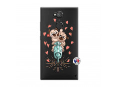 Coque Sony Xperia L2 Puppies Love