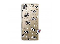 Coque Sony Xperia L3 Cow Pattern