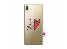 Coque Sony Xperia L3 I Love You