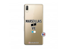 Coque Sony Xperia L3 Marseillais à Vie