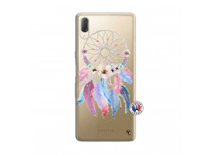 Coque Sony Xperia L3 Multicolor Watercolor Floral Dreamcatcher