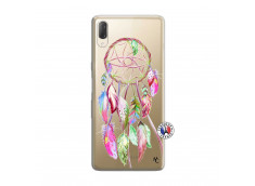 Coque Sony Xperia L3 Pink Painted Dreamcatcher