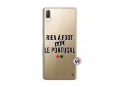 Coque Sony Xperia L3 Rien A Foot Allez Le Portugal