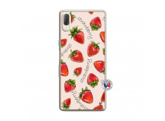 Coque Sony Xperia L3 Sorbet Fraise